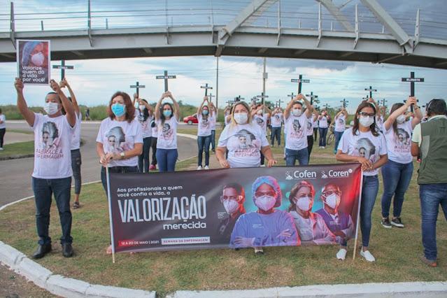 Coren-RO homenageia profissionais da Enfermagem falecidos por Covid-19 durante a pandemia