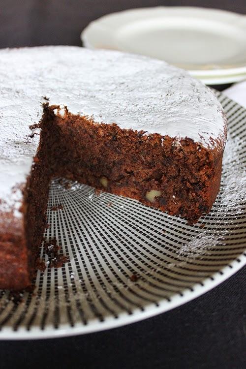 Flourless Chocolate Torte Almond