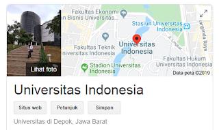 Peluang masuk snmptn Universitas Indonesia 2020/2021 {SNMPTN UI}