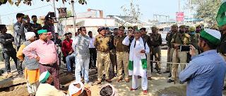भारतीय किसान यूनियन ने किसान पंचायत कर एसडीएम को सौंपा ज्ञापन | #NayaSaberaNetwork