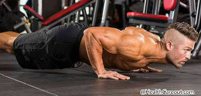 Push-up to make a strong and wide chest healthcareout.com