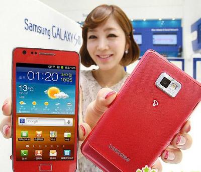 Samsung Galaxy S2 10% da população da Coréia do Sul tem um 2