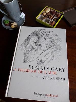 la promesse de l'aube romain gary et joann sfar