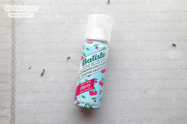 Сухой шампунь Batiste Fruity & Cheeky Cherry
