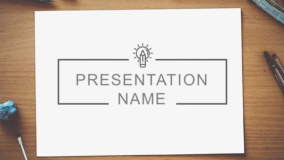 Introduction to educational presentation