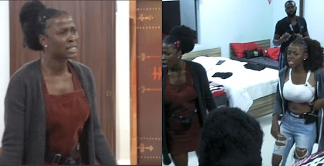 BBNaija: Pepper Dem Edition Gets Hotter As Another Fight Breaks Out Between Ella And Diane