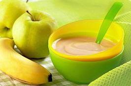 Cara memasak bubur pisang saos apel, tips memasak bubur pisang saos apel untuk bayi sehat