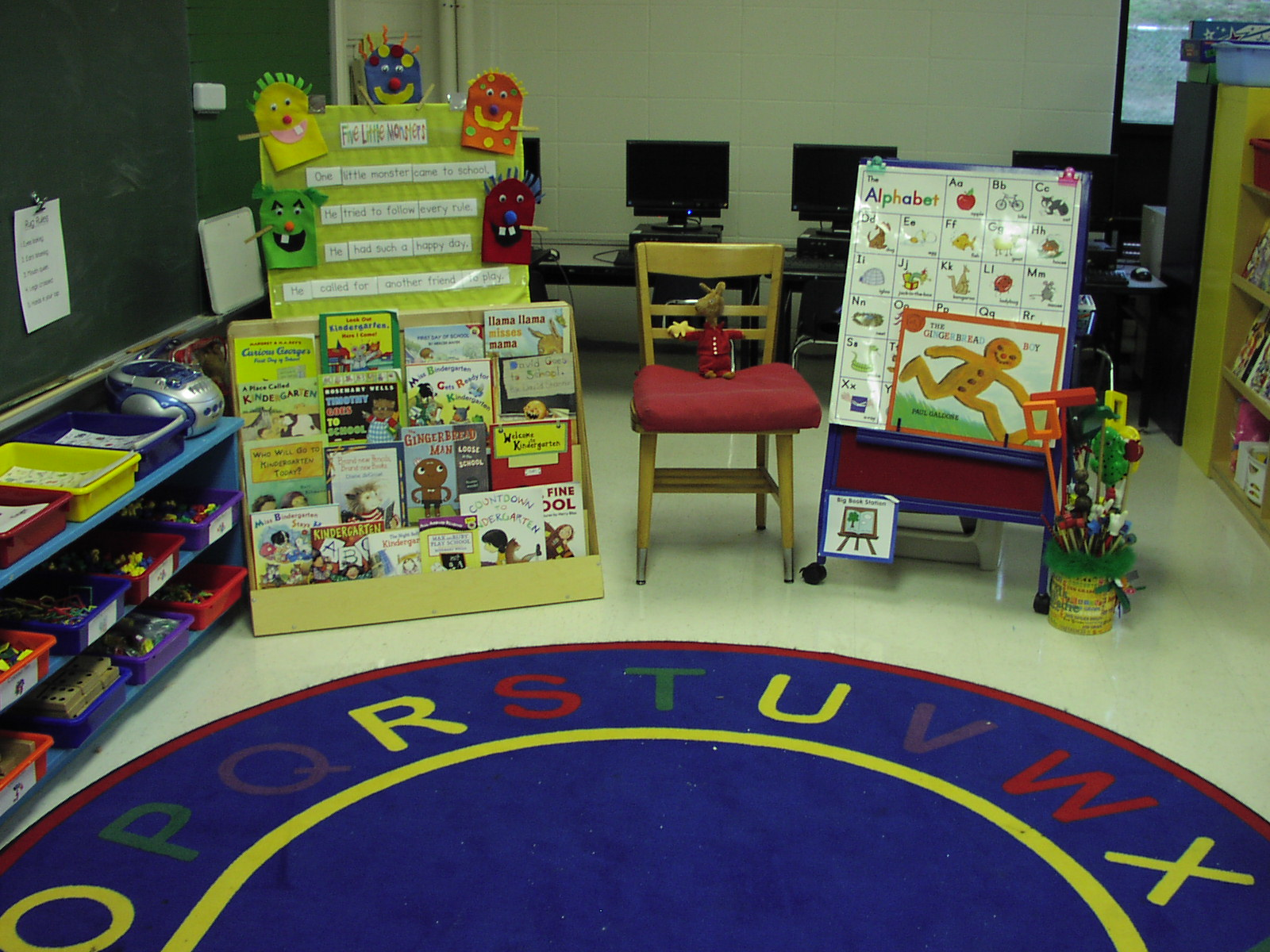 easel - Kindergarten Classroom Setup
