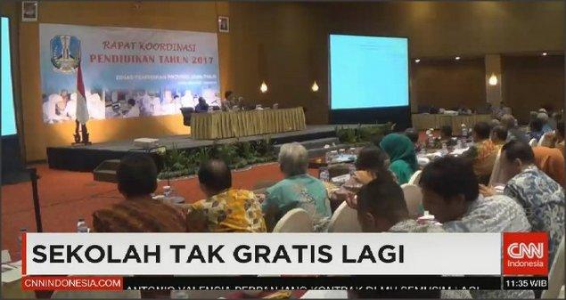 Wah, Sekolah Tak Gratis Lagi? Netizen: Makasih Pak Jokowi, Salam Gigit Jari