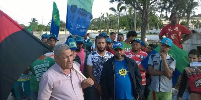 Convocantes dicen solo DIOS detiene la huelga por 48 horas en reclamo de varias reivindicaciones sociales.