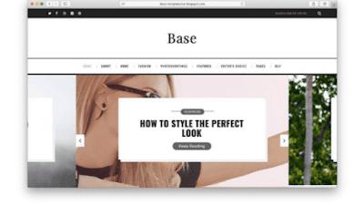 Template blogger responsive SEO friendly gratis download