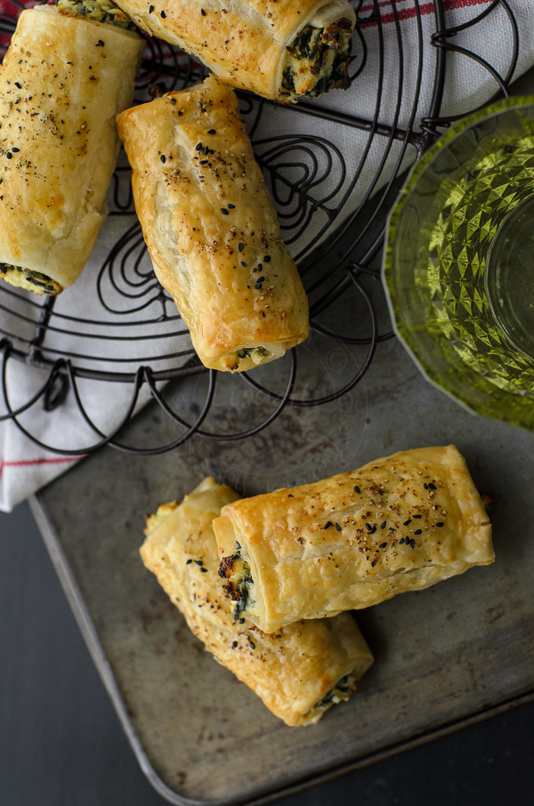 Feta Ricotta and Spinach Roll image