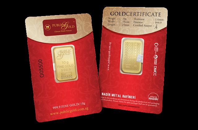Gold Bar 10gram