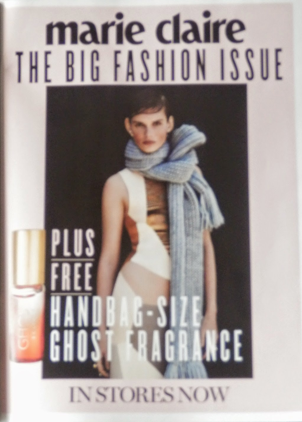 Marie Claire Magazine Freebie - Ghost Fragrance