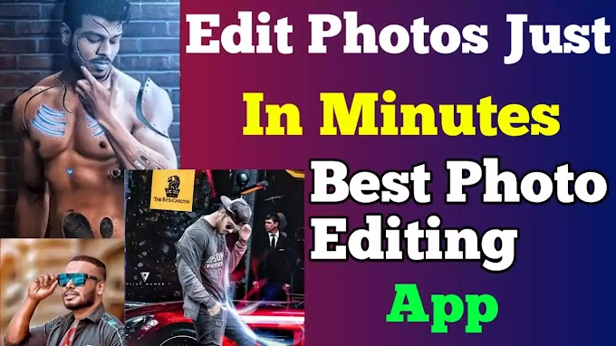 How to Edit Photos within a minute on android, best photo editing App