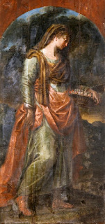 Πίνακας ζωγραφικής του Νικόλαου Κουτούζη, στο Μουσείο  Ζακύνθου. Από το ναό του Αγίου Γεωργίου του Πετρούτσου.
