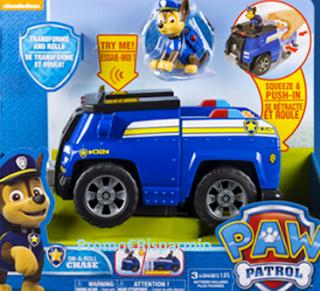 Logo Con Cartoonito vinci gratis kit di giochi Paw Patrol