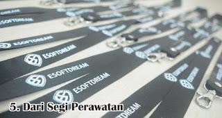 Perbedaan Tali Id Card Polos, Sablon dan Printing Dari Segi Perawatan