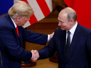 Trump unsure of meeting with Russia president in Paris