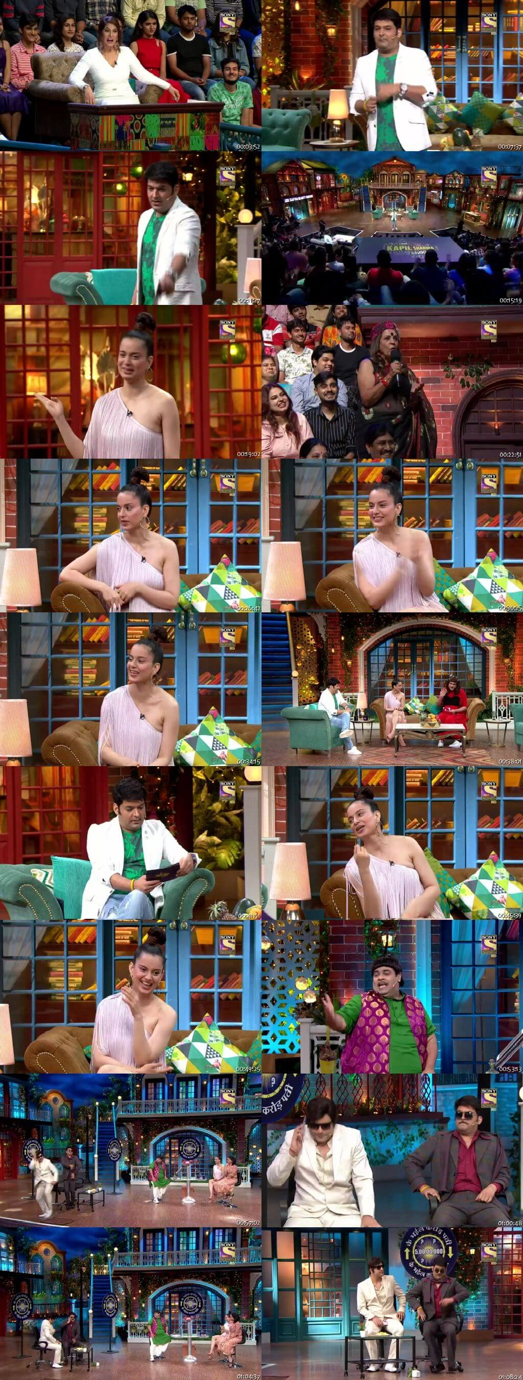 Screen Shot Of The Kapil Sharma Show 20th July 2019 Season 02 Episode 58 300MB Watch Online