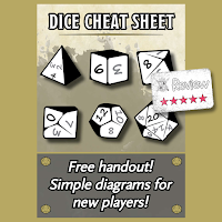 Frugal GM Review: Dice Cheat Sheet