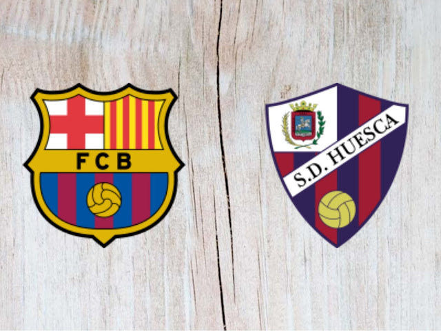 Barcelona vs SD Huesca Full Match & Highlights 02 September 2018