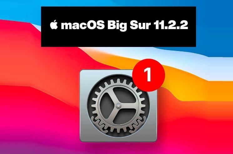 MacOS 11.2.2 Update
