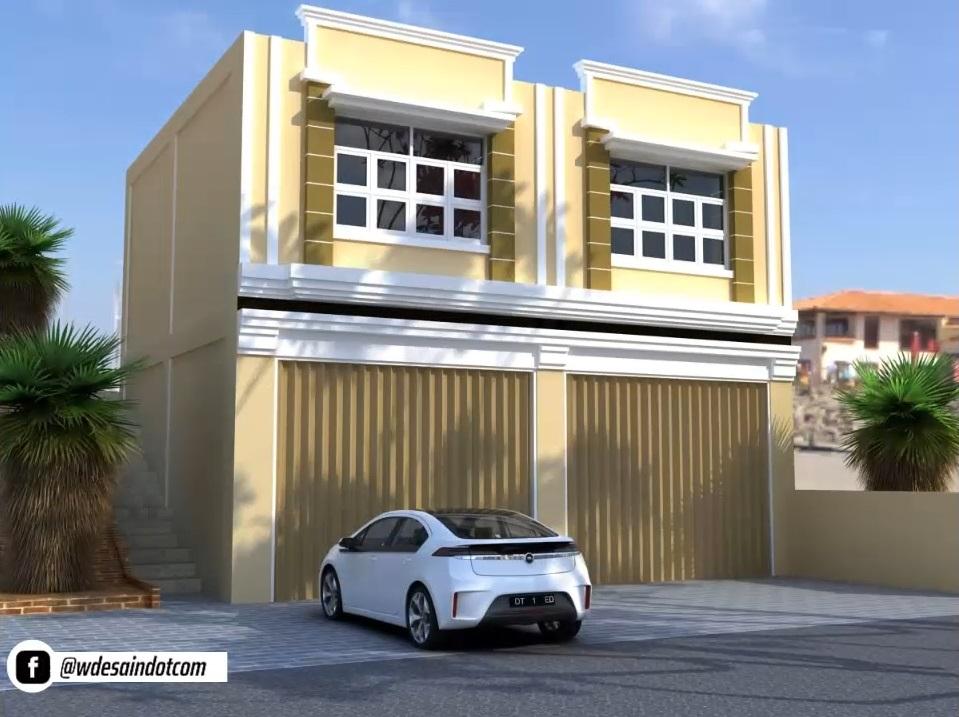 3 Desain Ruko Minimalis Untuk Toko Dan Tempat Tinggal Desain Rumah Minimalis
