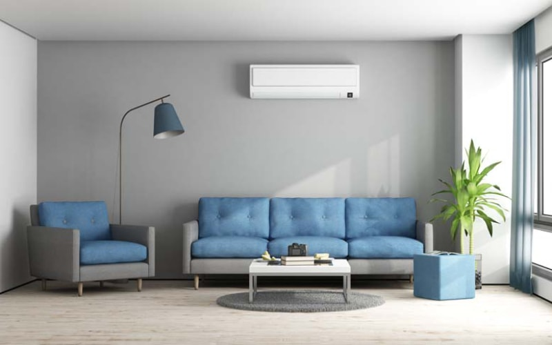 A mobile  Air conditioning  is an excellent option for rented apartments and offices, for buildings where, due to circumstances