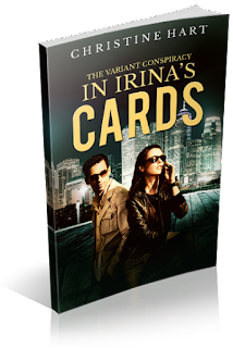 http://www.amazon.ca/Irinas-Cards-Variant-Conspiracy-Book-ebook/dp/B01EKCKNWI?ie=UTF8&qid=1461281420&ref_=sr_1_1&s=books&sr=1-1