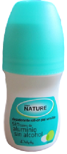 desodorante sin aluminio Mercadona Deliplus Black Nature