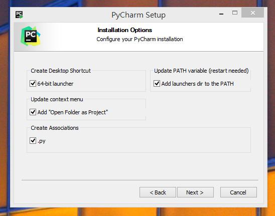Windows下安裝Pycharm與新增Django專案@ 魚的方舟* 圖形語言的