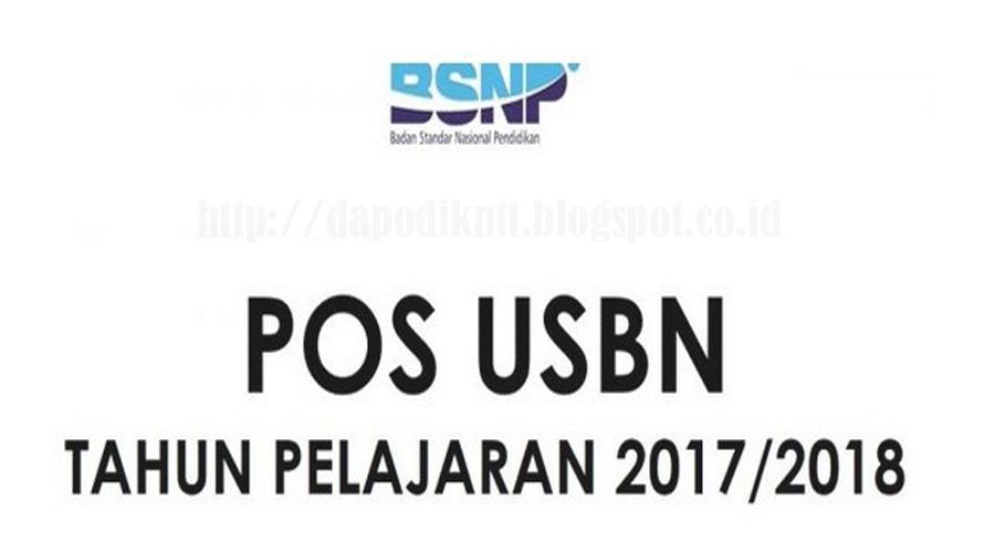 Download POS USBN Tahun Pelajaran