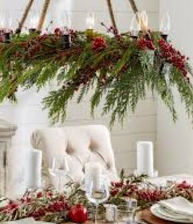 Mendekorasi untuk Natal: Menggunakan apa yang sudah anda miliki di dalam rumah Anda