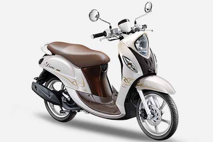 New Yamaha Mio Fino 125 Blue Core
