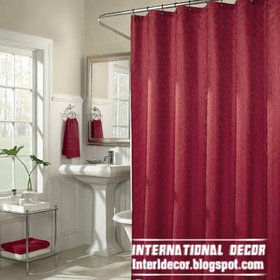 Latest Designs Of Shower Curtains And Best Trends 80 Burgundy Brown Curtain Croscill