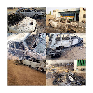 Covid-19: Angry youth burn police station for stopping their Friday prayer