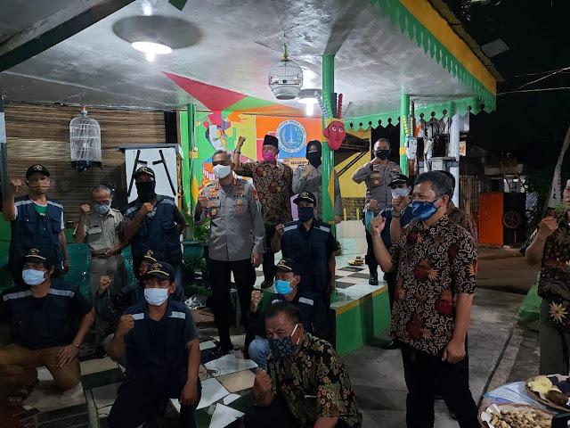 Dirbinmas Polda Metro Jaya Gencarkan Siskamling di Masa Pandemi Covid-19