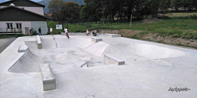 Skatepark béton Ugine