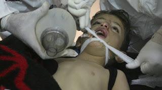 Kejam! Rezim Syiah Nushairiyah Berada di Balik Serangan Kimia Idlib