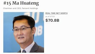 kisah sukses Ma Huateng