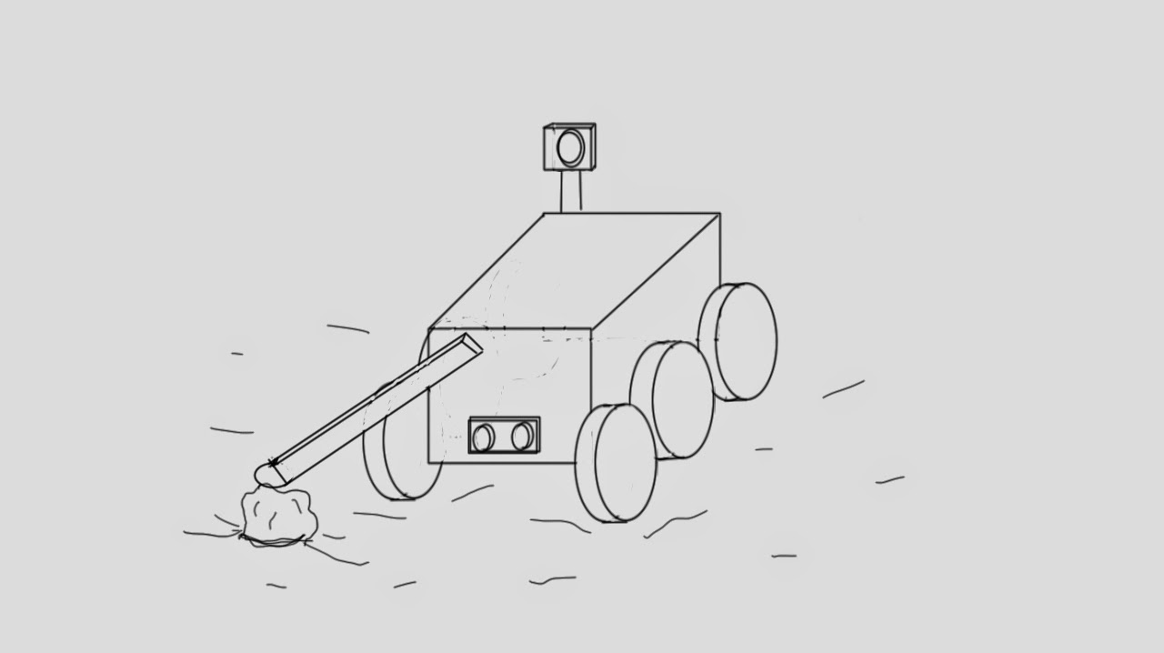 Mars Rover Sketch (page 4) - Pics about space