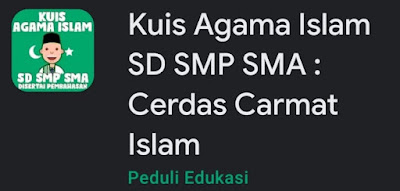 Game Kuis Agama Islam SD SMP SMA : Cerdas Cermat Islam
