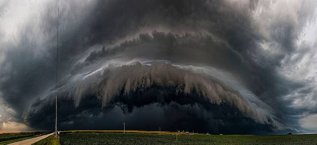 peace mind thunder cloud road nature beautiful picture