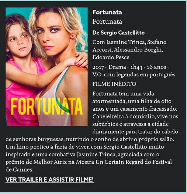 Filme Italiano Fortunata