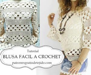 Cómo Tejer Blusa Calada a Crochet | Tutorial completo