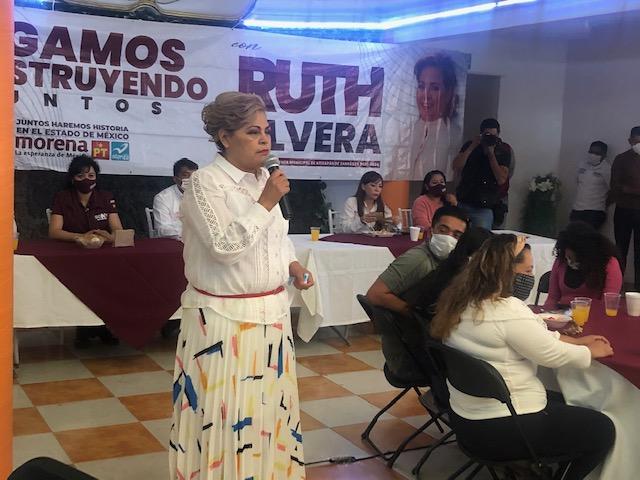 """""""NI BILLETAZOS, NI AMENAZAS"""" HARÁN QUE PERDAMOS LA ELECCIÓN ESTE 6 DE JUNIO: RUTH OLVERA NIETO."""