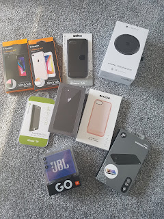 iphone 8 and accessories haul