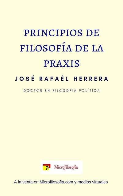 Libro principios de filosofía de la praxis