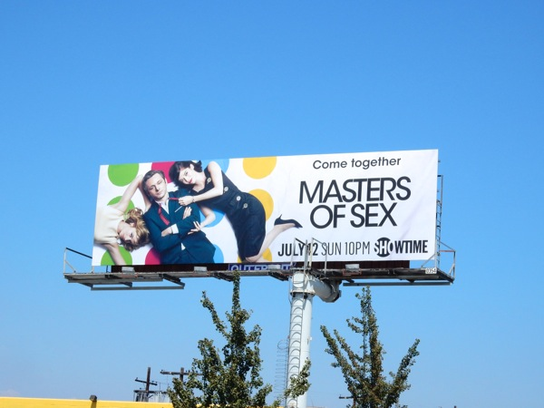 Masters of Sex season 3 billboard